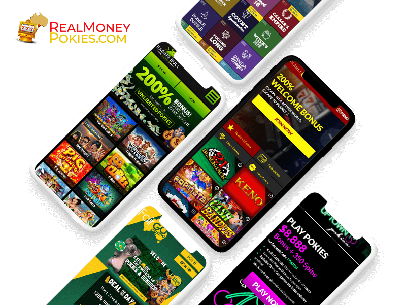 Real money pokies on smartphone