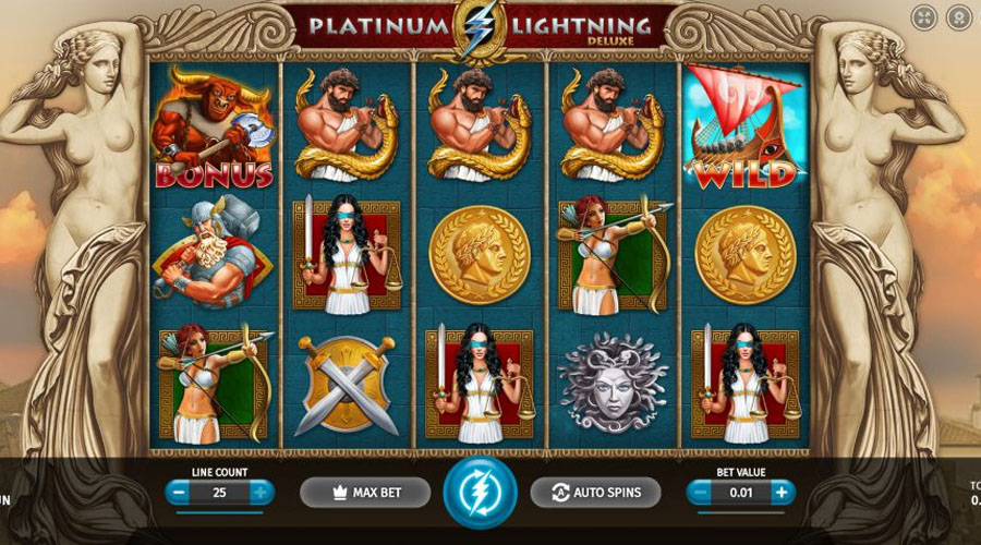 popular pokies in australia example platinum lightning screenshot