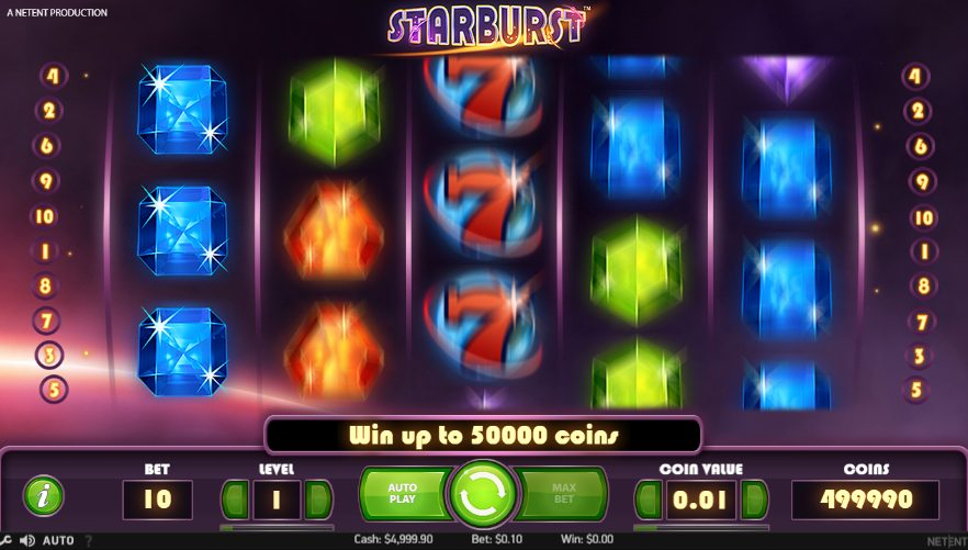 Starburst Pokies on your mobile