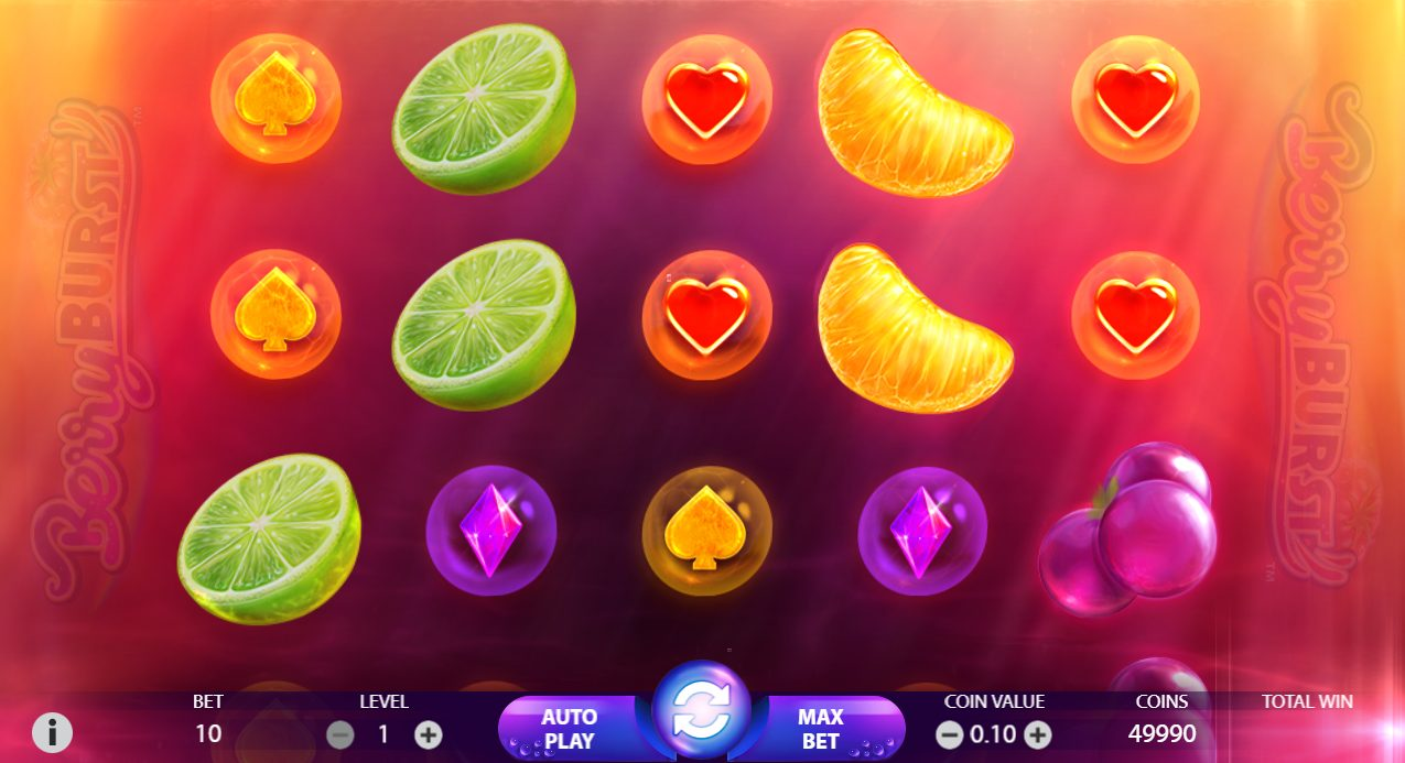 Berryburst pokies on your mobile